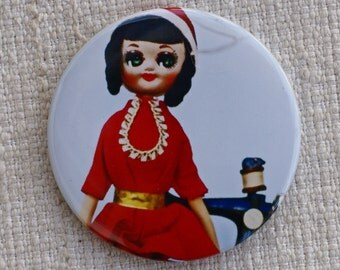 SALE Margaret Pose Doll Compact Mirror