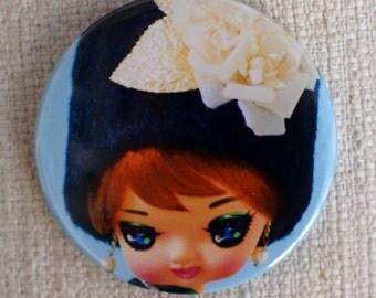 Edwina Pose Doll Compact Mirror