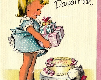 To A Darling Little Daughter Vintage Digital Download Images (168)