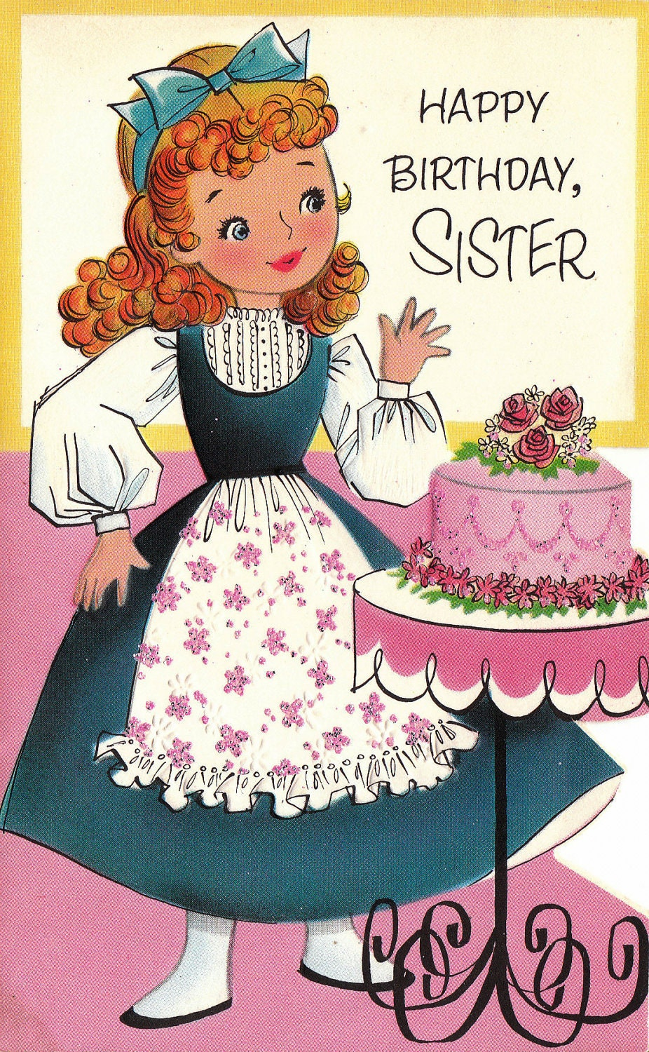 17 Best ideas about Happy Birthday Little Sister – Happy Birthday Sis Cards