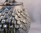 SALE Ebony Tears Lidded Jar - was 150 dollars