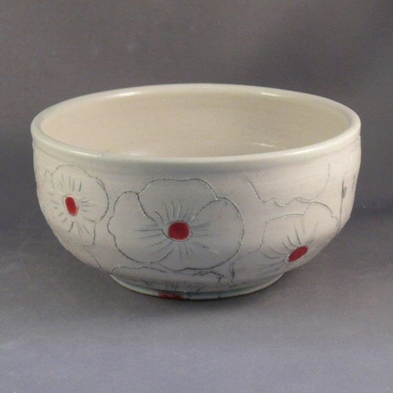 Poppy Bowl for Soup or Salad