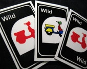 Wild Card Scooter Magnets