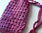 Cotton Crochet Soap Saver Cherry Pink- Cleaning, Bathroom On Etsy