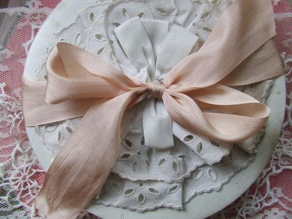 Champagne Silk Ribbon (2 yards)