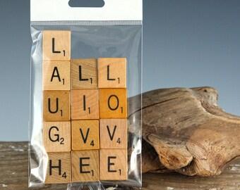 LIVE LAUGH LOVE Scrabble Letters Pack