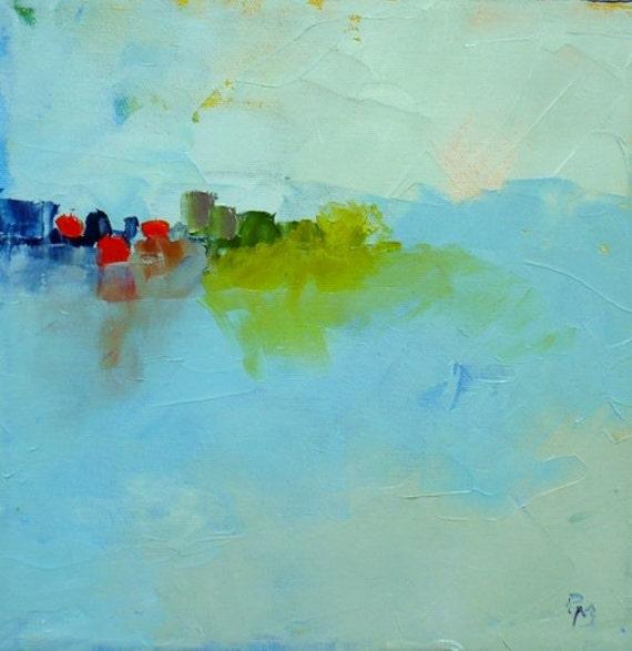 Bluescape, original abstract landscape