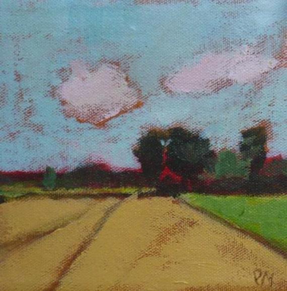 original rural landscape painting pamela munger