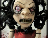 Angry Sue - Clay Art Doll