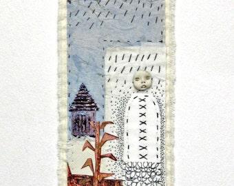 Textile Art Quilt - Homestead