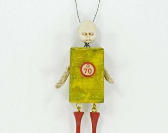 Block Art Doll O-70