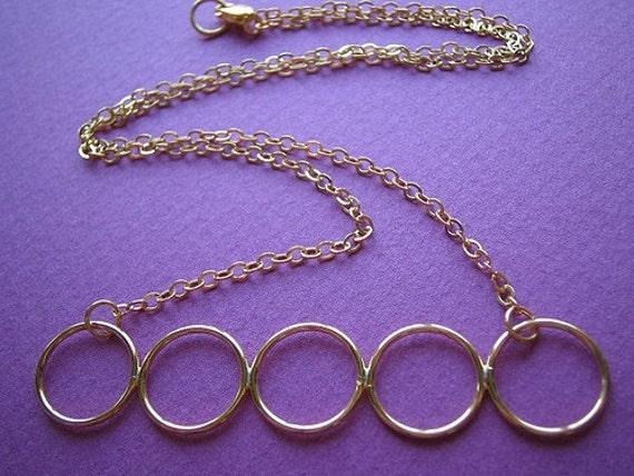 Cinco Circulos Necklace