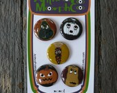 gourds of goth magnet set