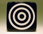 tile target (b\/w)