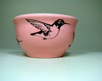 small bowl hummingbird - Made to Order / Pick Your Colour