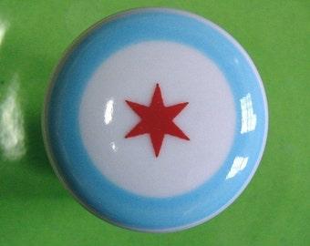 magnet chicago flag