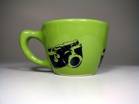 12oz cup camera -  Pick Your Colour / Pick Your Print