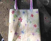 SALE Yellow Butterfly Sock Bag-Free 1st Class Shipping