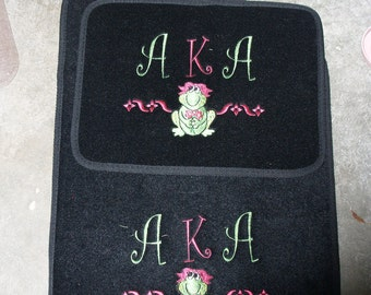 Custom Personalized Monogrammed Embroidered Car Mats
