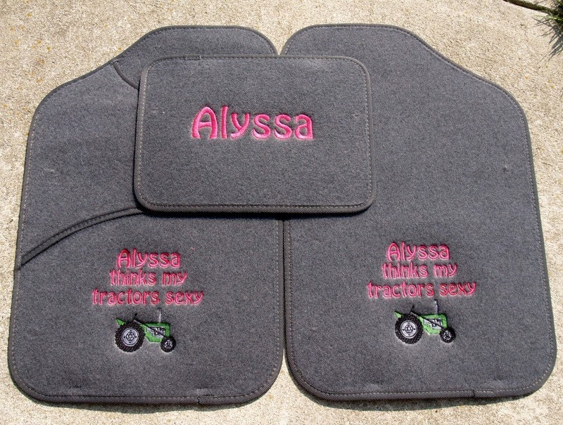 Custom Boutique Embroidered Car Mats Vehicle Mats Dbcb Carmats