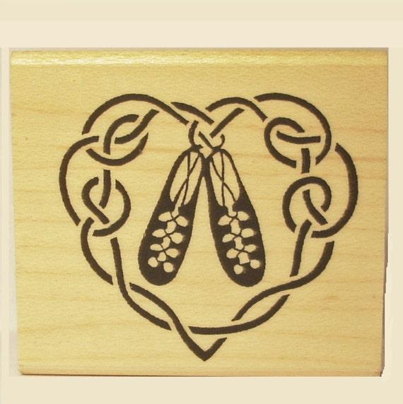 Irish Dance Shoes Drawing Irish Dance Shoe Heart Rubber