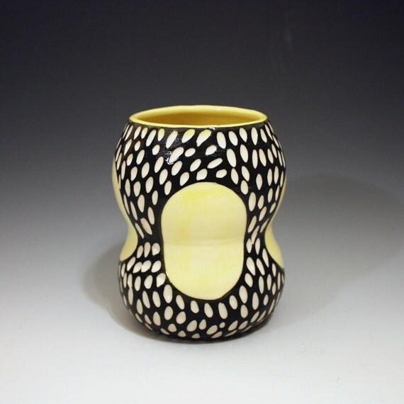 moving sale  Mod Spot porcelain vase