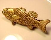 Metal Fish Barrette