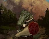 Alan the Amorous Alligator
