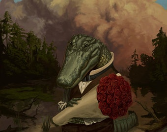 Alan the Amorous Alligator