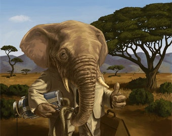 Edward the Enterprising Elephant