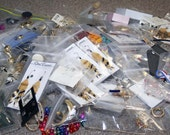 Large Six Pound Upcycle\/Recycle\/Reclaim Jewelry Lot - Studio Clean Out SALE