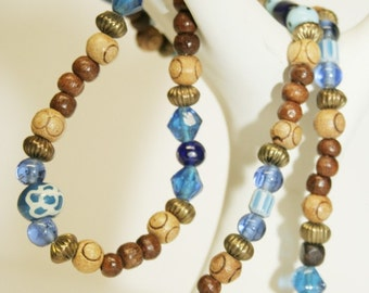 Bohemian Bliss - Vintage Beaded Necklace