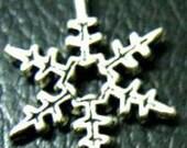 90 Silver Snowflake Chrams