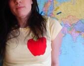 Apple Sue Tshirt Ladies Small