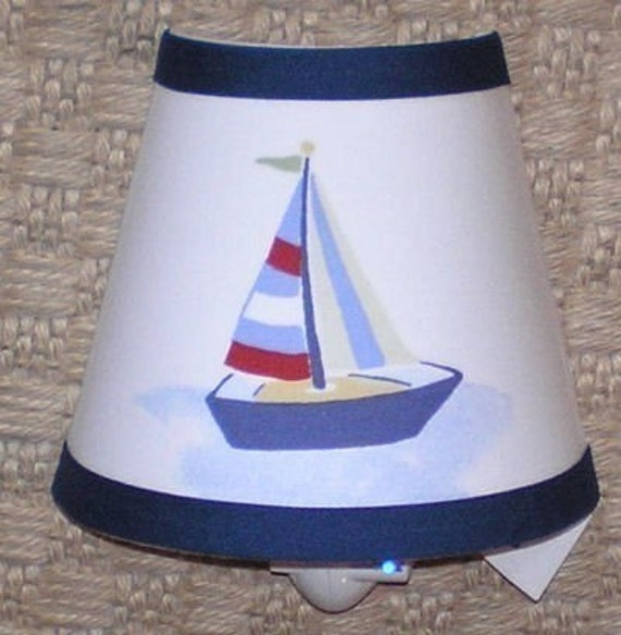 Navigator Nautical Boat Nightlight Made W By 3buttonsn2bows