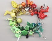 ROY G. Rainbow Charm Bracelet One-of-a-Kind