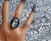 MACABRE Means Horror B Movie Ring