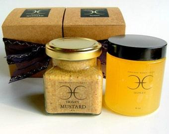 Honey and Honey Mustard Gift Set