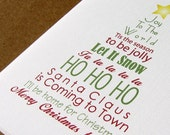 Words of Christmas Subway Art 1 Printable Wall Art by BitsyCreations INSTANT DOWNLOAD - BitsyCreations
