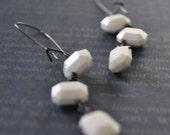 Octagon Earrings