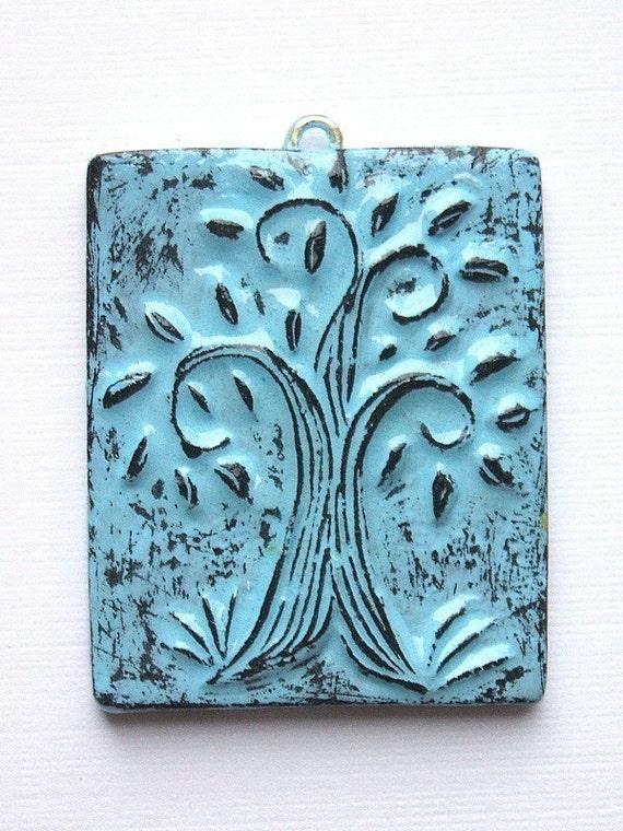 Whimsical Tree Pendant