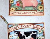 Farm Animal Potholders