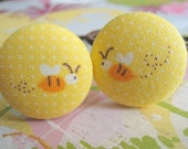 its wonderful to bee in love (yellow) - 2 ponytail holders