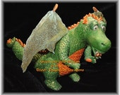 Standing Polymer Clay Dragon - No. 1 in Series