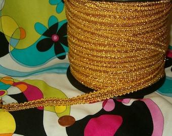 Fancy Gold Trim or Ribbon 5 Yards