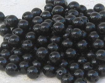 Onyx beads 6mm set of 138 beads