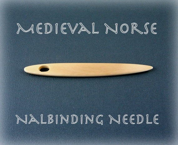 Medieval Norse Fossil Mammoth Ivory Nalbinding Needle