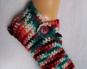 Soft Mary Jane Crochet Slippers