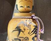 Vintage Japanese Kokeshi Doll Bobble Head Nodders Mailer