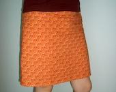 Orange sherbert skirt